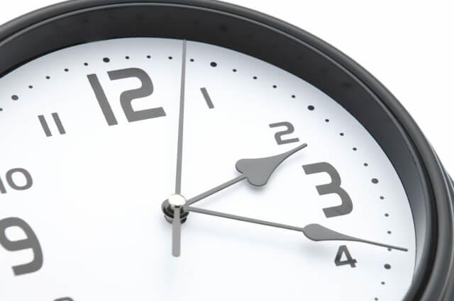 オンライン購入したときの審査にかかった時間はどれくらい?