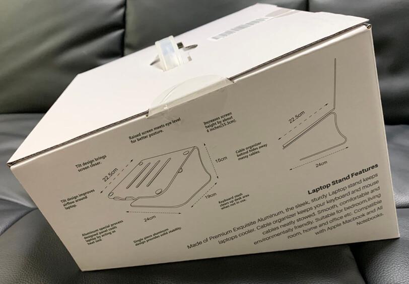 外箱の側面