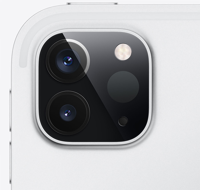 第2世代iPad Proのカメラ