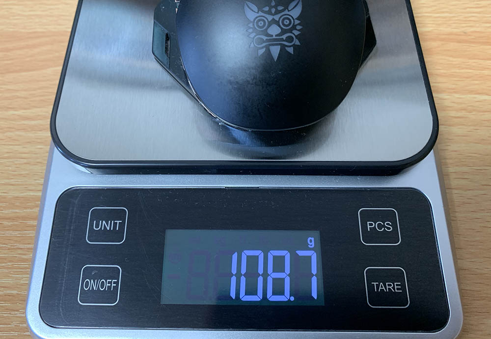 今まで使っていたマウスの重さ