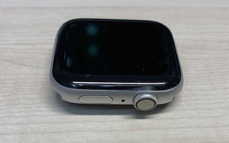 Apple Watchのクリーニング後反対側
