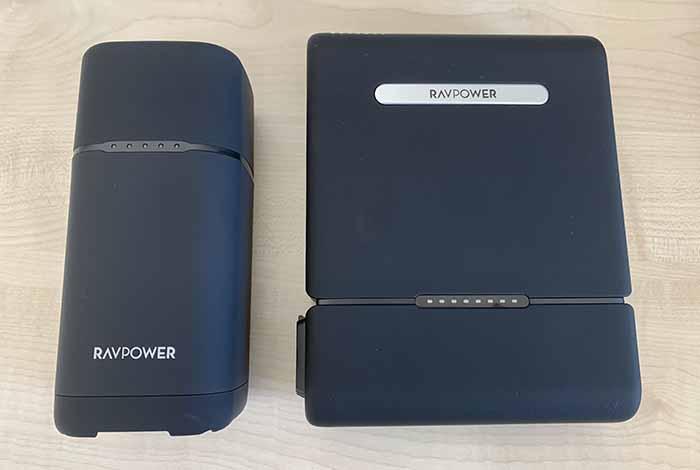 RP-PB505とRP-PB054proのサイズ比較