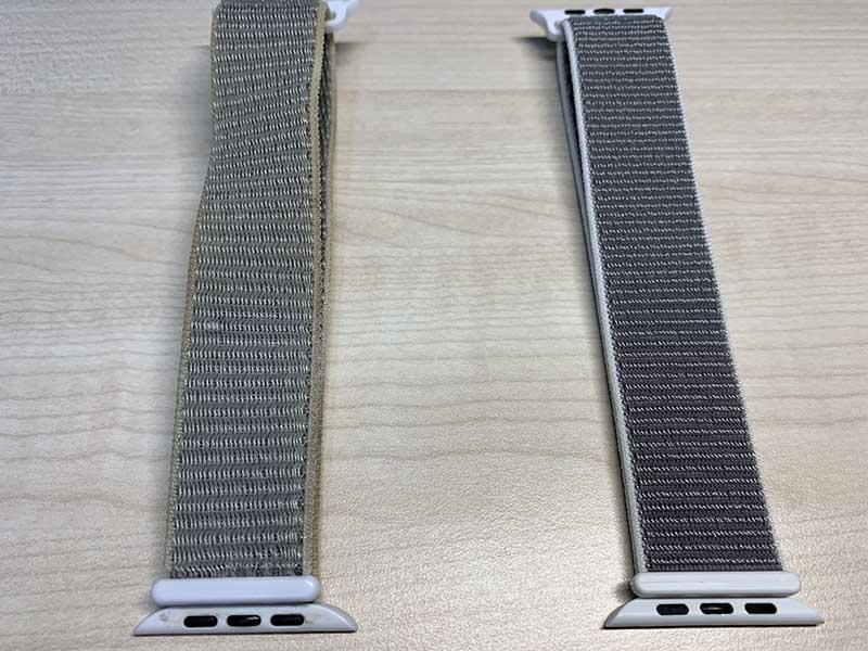 Apple Watchのベルトを新旧比較