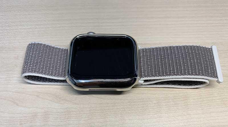 Apple Watchのメンテナンス後