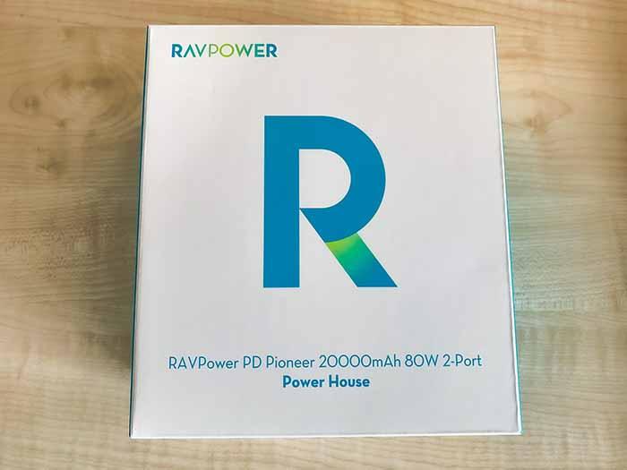 RAVPower RP-PB054proの外箱